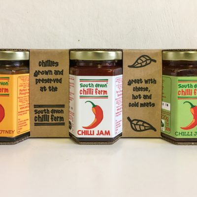 South Devon Chilli Farm 3 Jar set