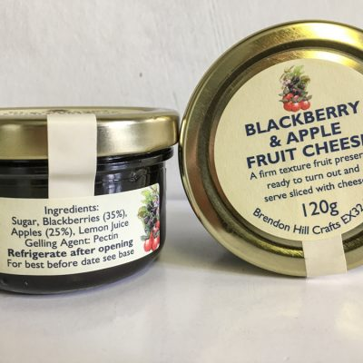 Brendon Hill Crafts Blackberry & Apple Fruit Cheese