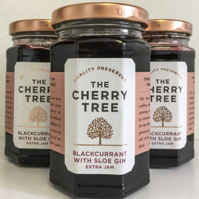 The Cherry Tree Blackcurrant with Sloe Gin Jam
