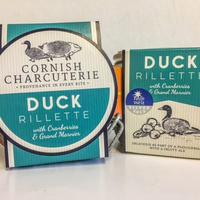 Cornish Charcuterie Duck Rillette
