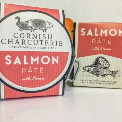 Cornish Charcuterie Salmon pate with Lemon