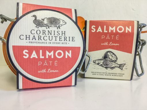 Cornish Charcuterie Salmon pate with Lemon