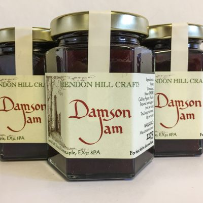 Brendon Hill Crafts Damson Jam