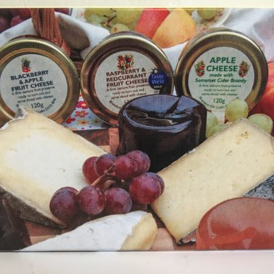 Display Set Fruit Cheese