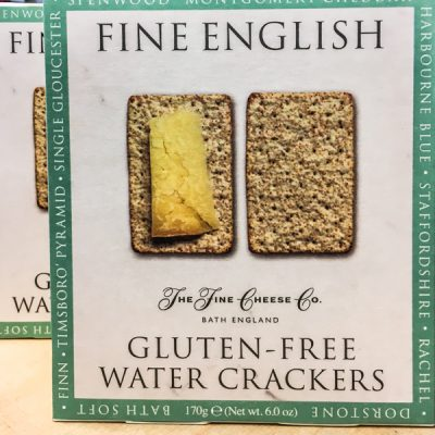 The Fine Cheese Co. Gluten Free Water Biscuits