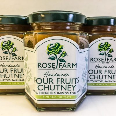 Rose Farm Four Fruits Chutney