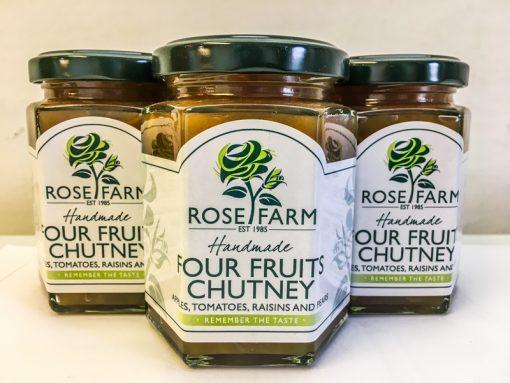 Rose Farm Four Fruits Chutney