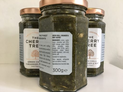 The Cherry Tree Green Chilli Coriander & Mint Chutney