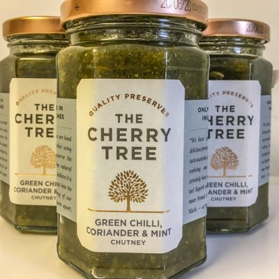 The Cherry Tree Green Chilli Coriander & Mint Chutney