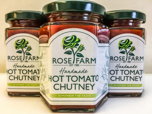 Rose Farm Hot Tomato Chutney