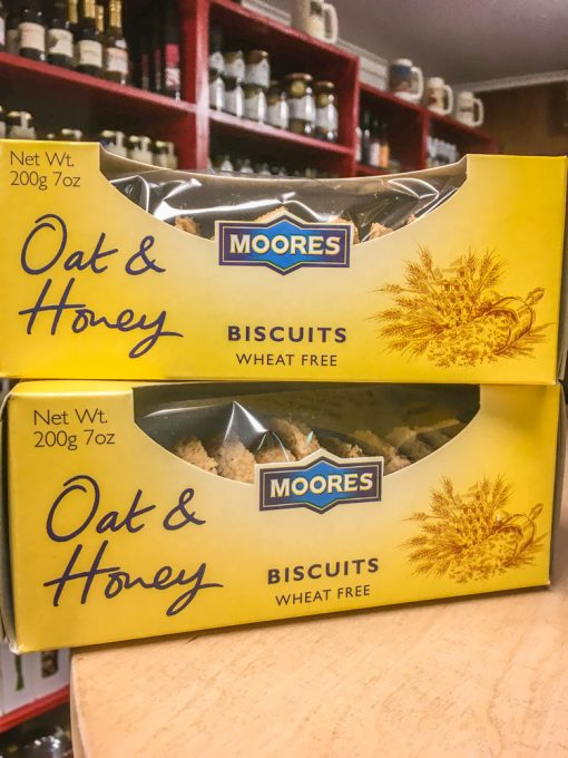 Moores Wheat Free Oat & Honey Biscuits