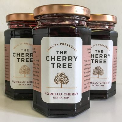 The Cherry Tree Morello Cherry Extra Jam