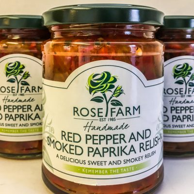 Rose Farm Red Pepper & Smoked Paprika Relish
