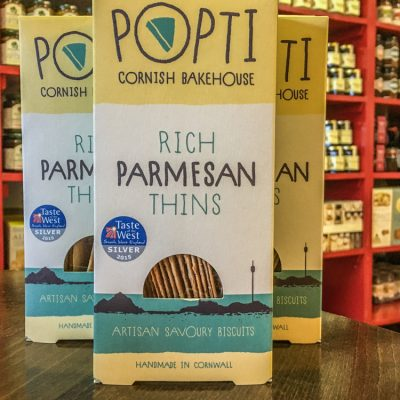 POPTI Rich Parmesan Thins