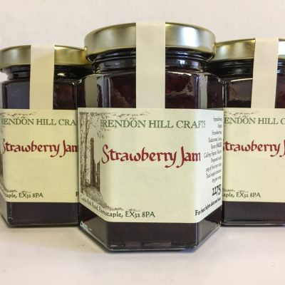 Brendon Hill Crafts Strawberry Jam