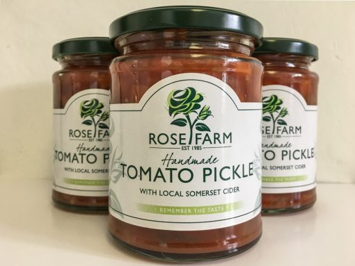 Rose Farm Tomato Pickle with Local Somerset Cider