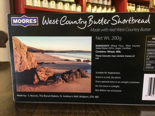 Moores West Country Butter Shortbread 2