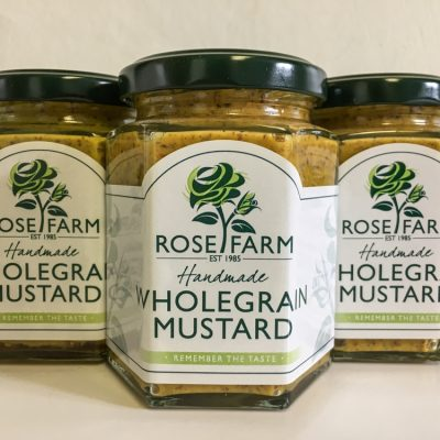 Rose Farm Wholegrain Mustard