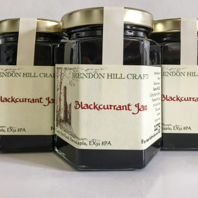 Brendon Hill Crafts Blackcurrant Jam