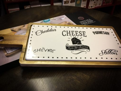 Porcelain Cheese Board