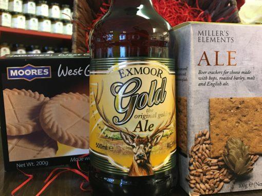 Exmoor Ale Cheddar truckle Hamper_5