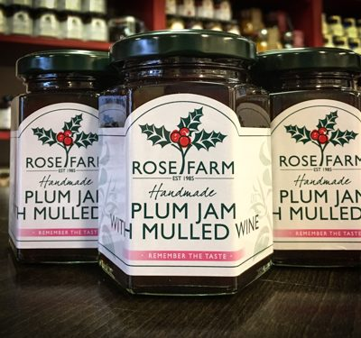 Plum Jam Mulled Wine