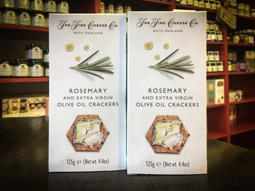 Rosemary Olive Crackers